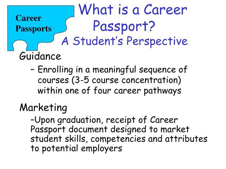 Career Passports