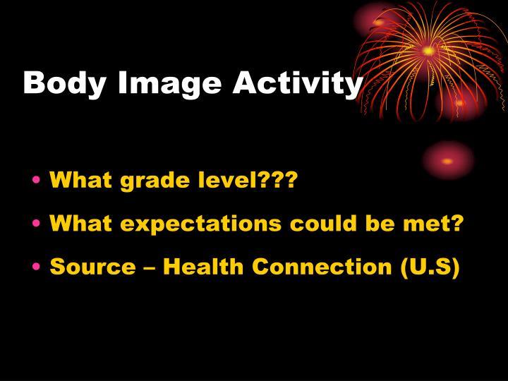 Body Image Activity