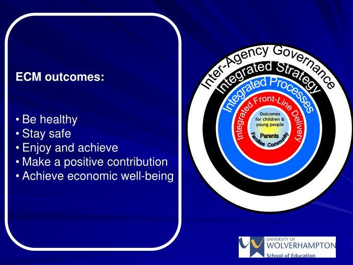 Inter-Agency Governance