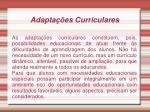 adapta es curriculares