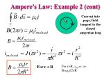 ampere s law example 2 cont