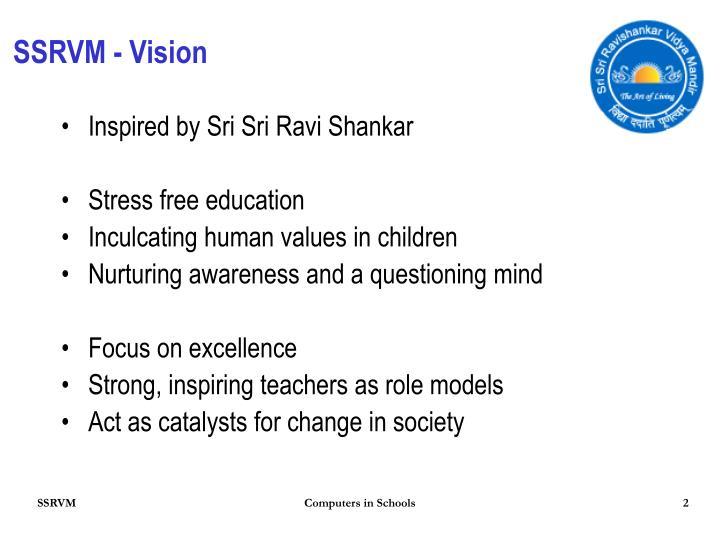 SSRVM - Vision