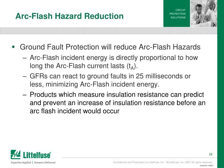 Arc-Flash Hazard Reduction