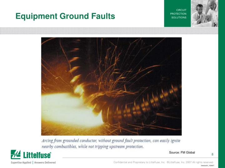 Equipment Ground Faults