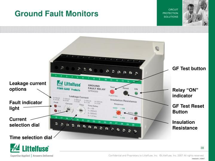 Ground Fault Monitors