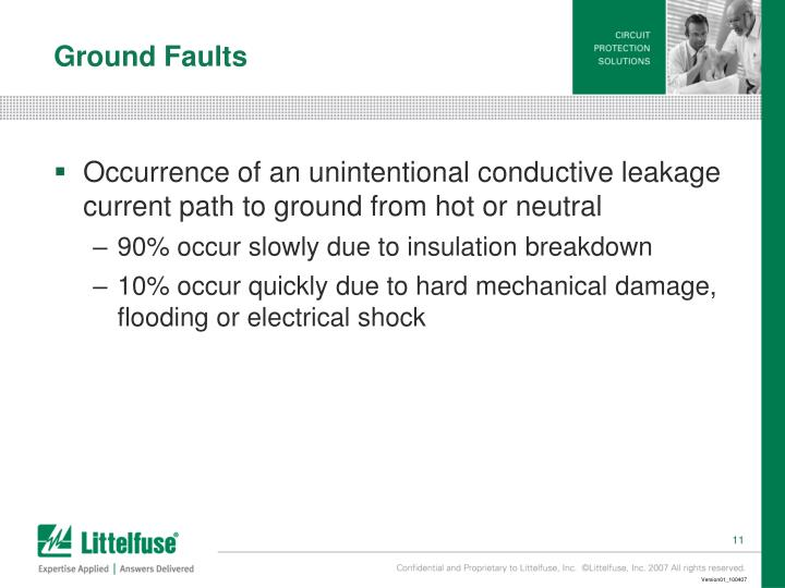 Ground Faults