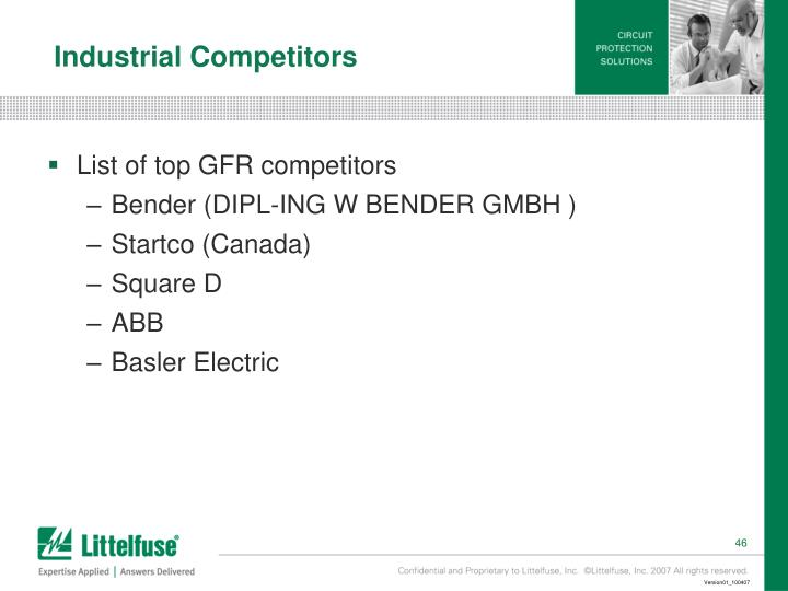 Industrial Competitors