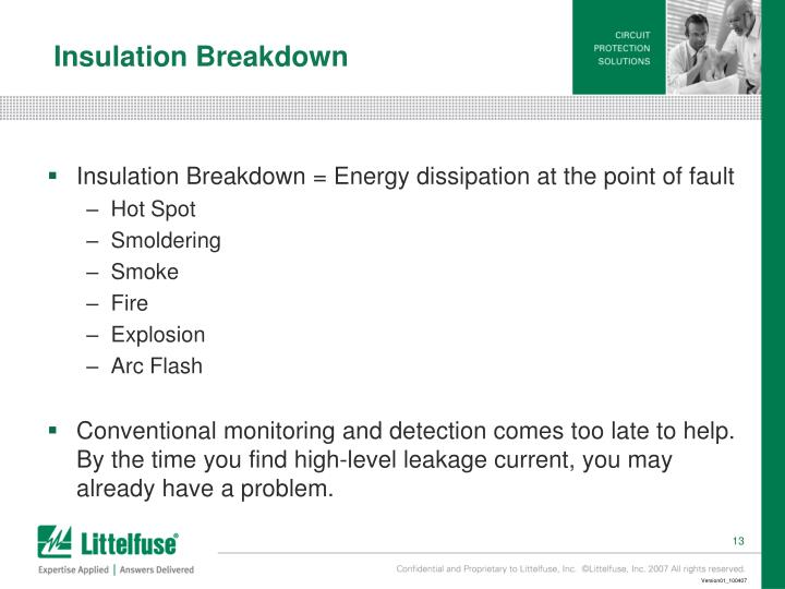 Insulation Breakdown