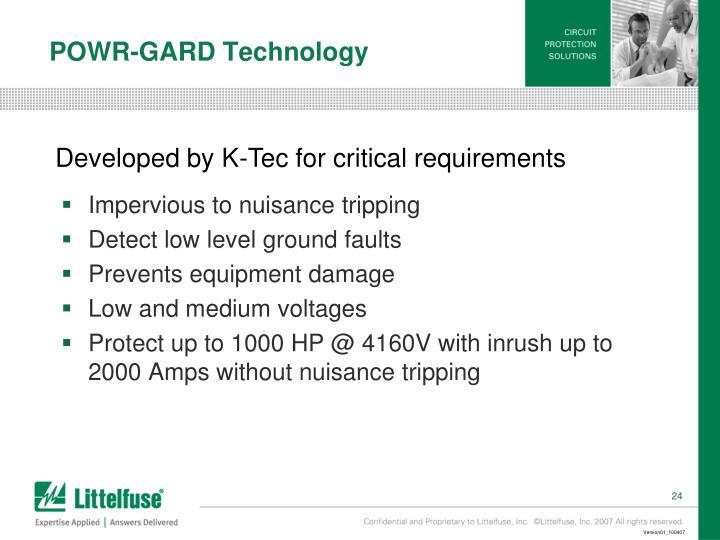 POWR-GARD Technology