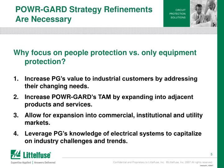 POWR-GARD Strategy