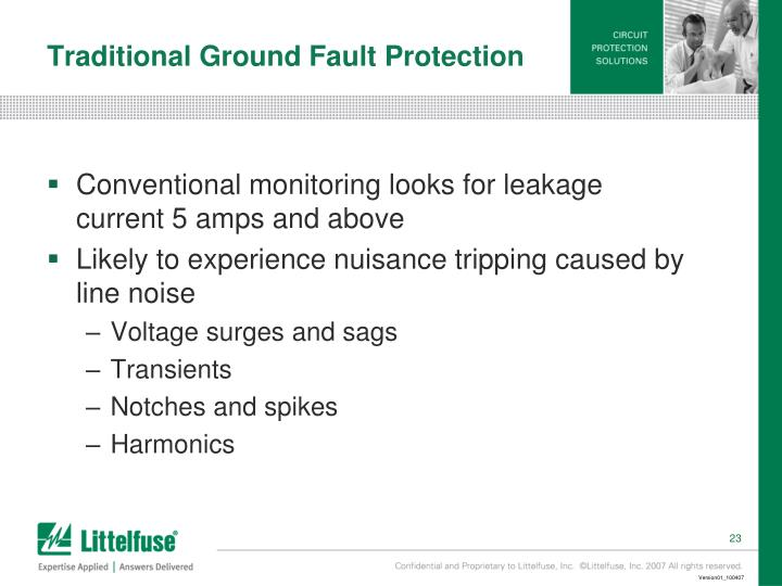 Traditional Ground Fault Protection