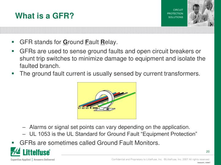 What is a GFR?