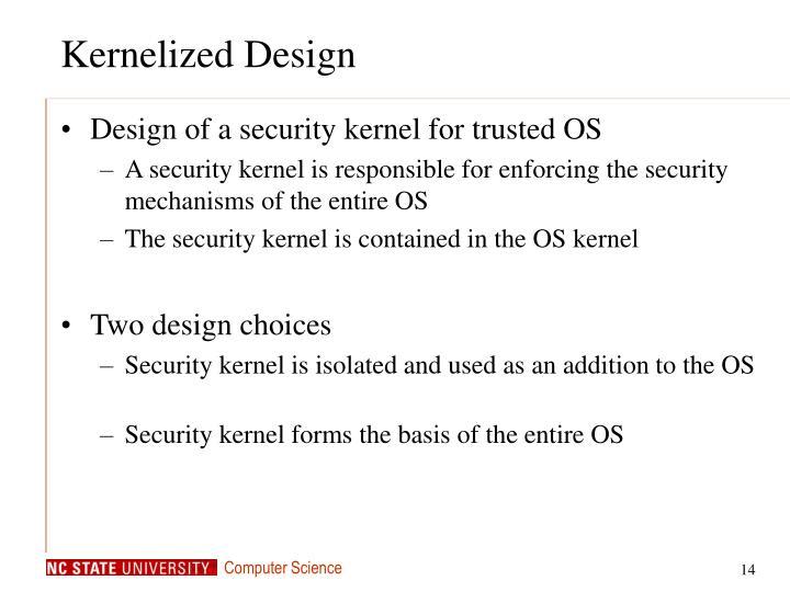 Kernelized Design