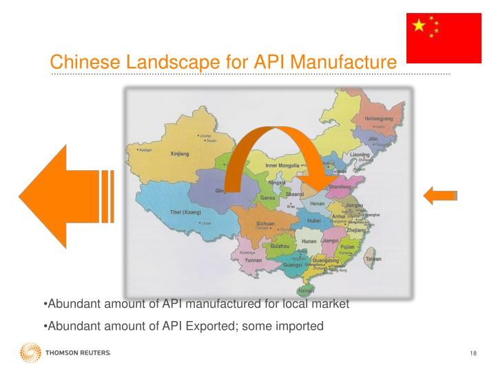 Chinese Landscape for API Manufacture