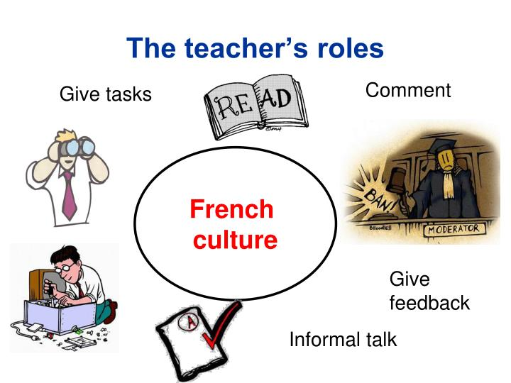The teacher's roles