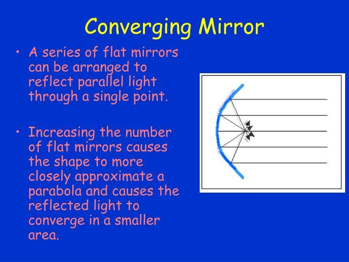Converging Mirror