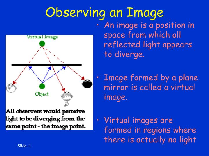 Observing an Image