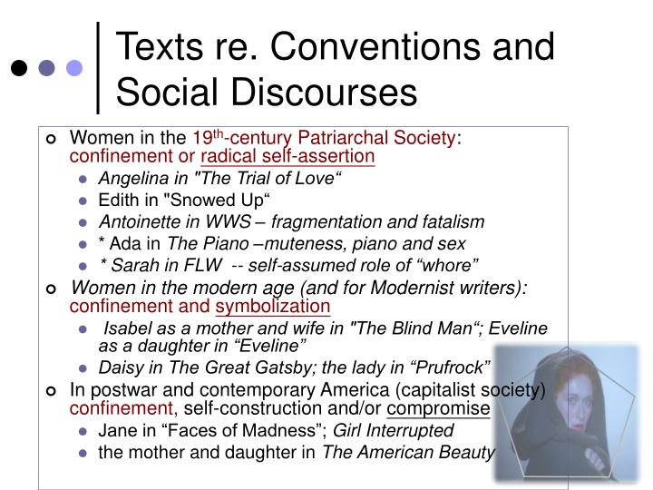 Texts re. Conventions and Social Discourses