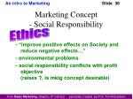 marketing concept social responsibility