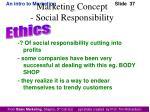 marketing concept social responsibility1