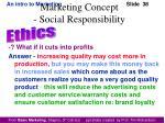 marketing concept social responsibility2