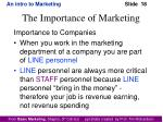 the importance of marketing3