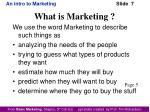 what is marketing1