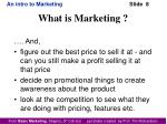 what is marketing2