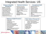integrated health services us