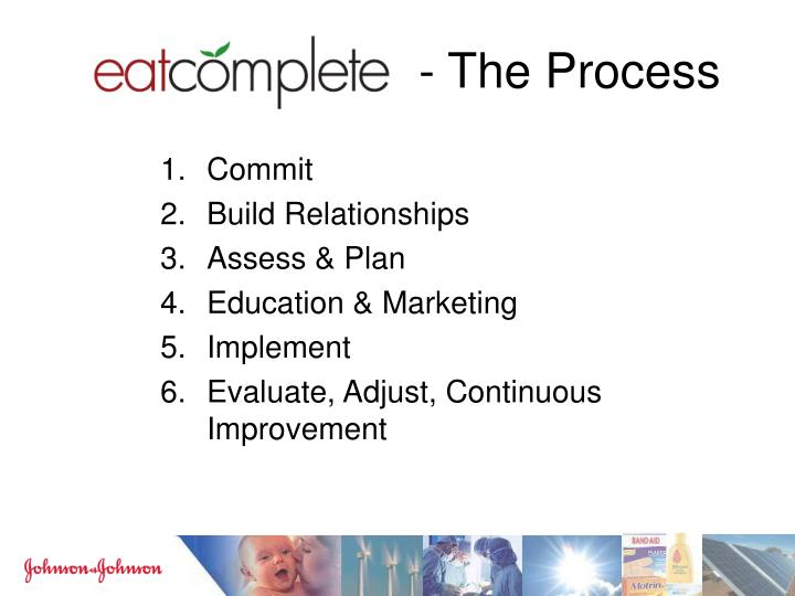 - The Process