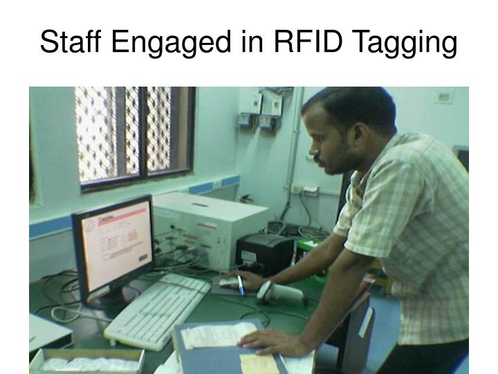 Staff Engaged in RFID Tagging