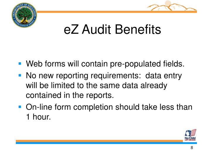 eZ Audit Benefits