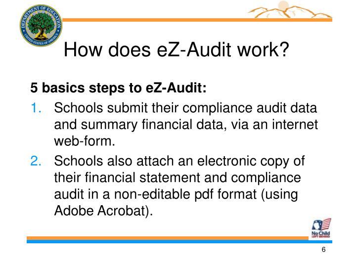 How does eZ-Audit work?