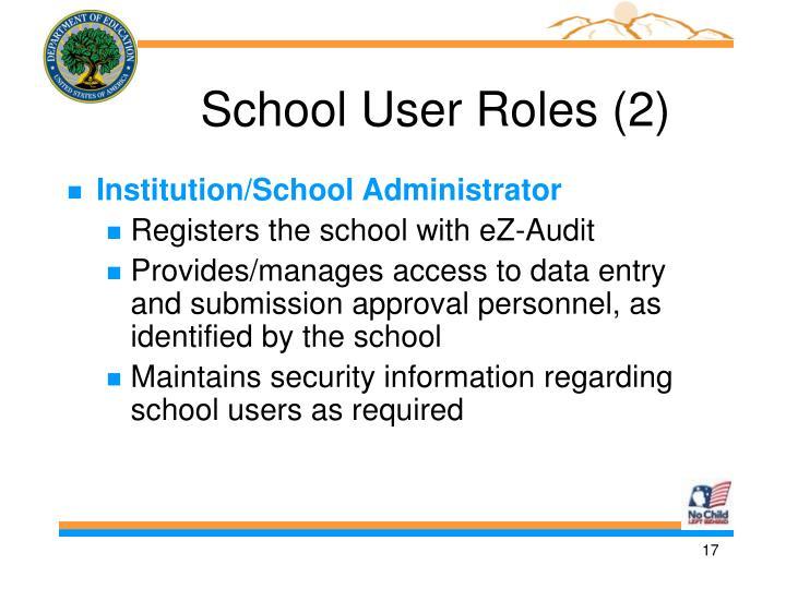 School User Roles (2)