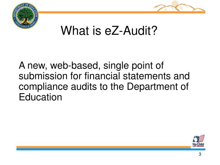 What is eZ-Audit?