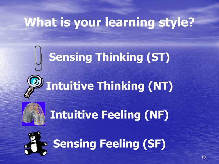 What is your learning style?