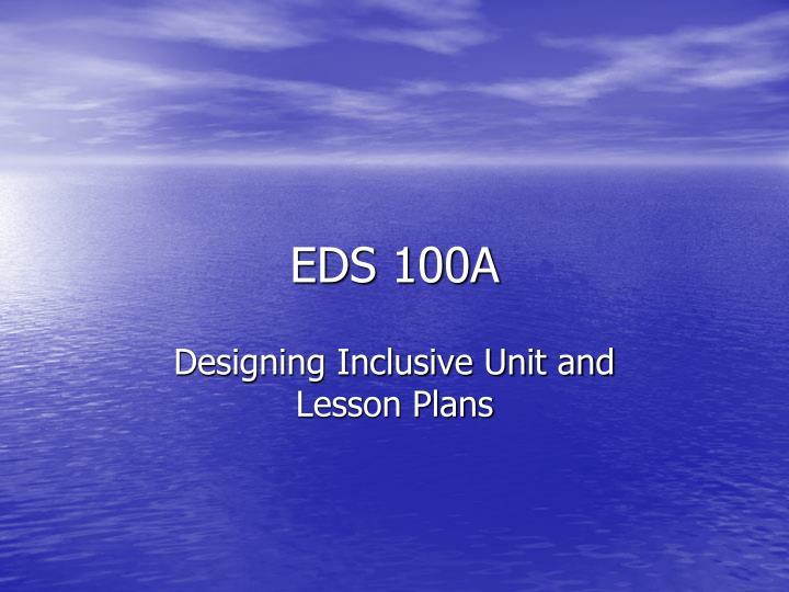 eds 100a