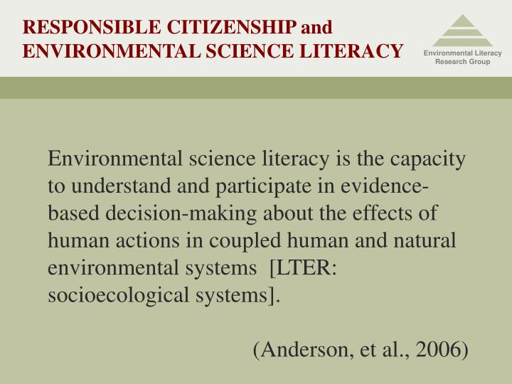 Environmental Literacy Research Group