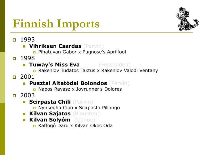 Finnish Imports