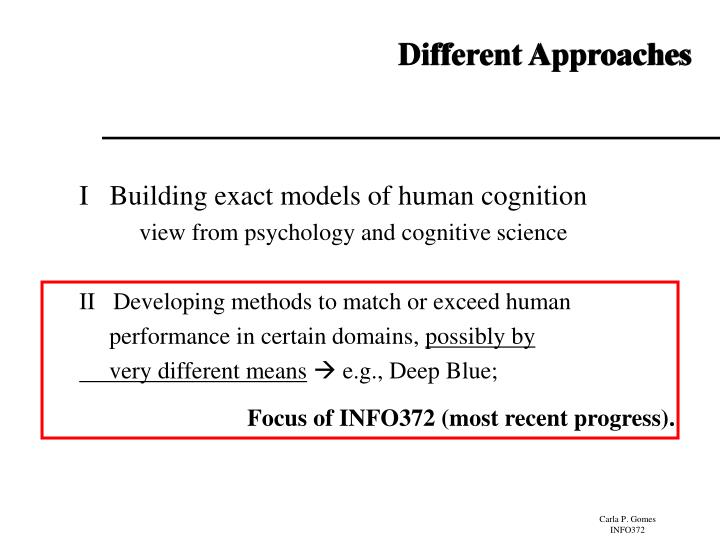 Focus of INFO372 (most recent progress).