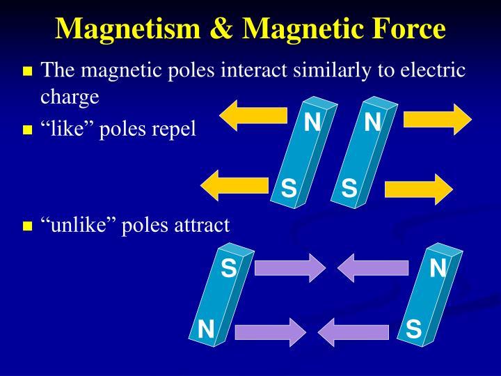 Magnetism & Magnetic Force