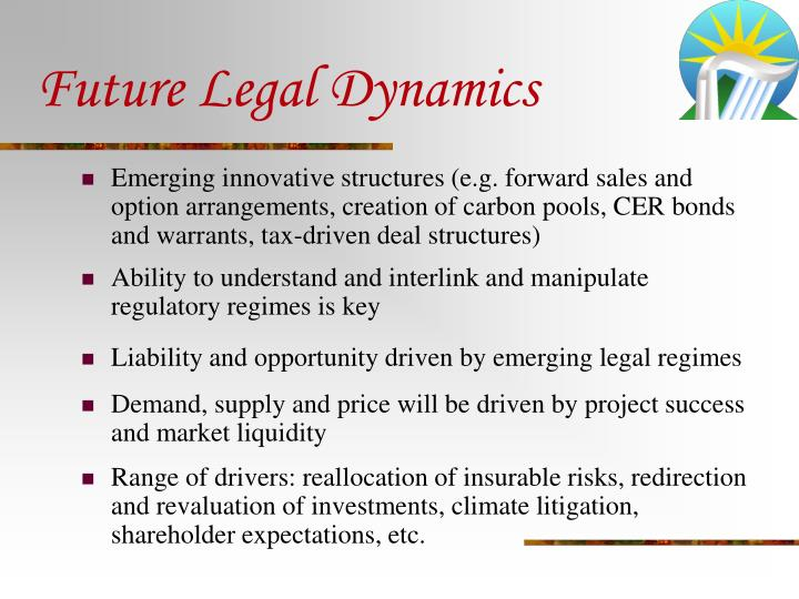 Future Legal Dynamics