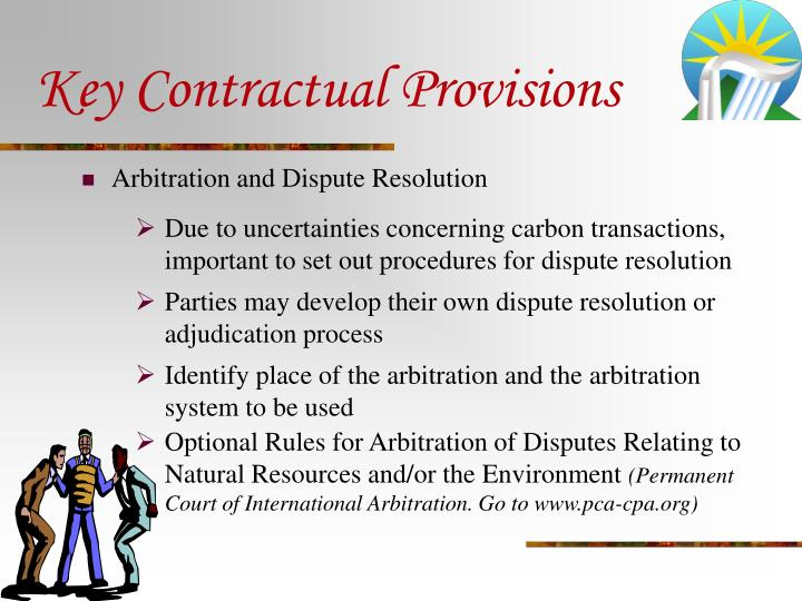 Key Contractual Provisions