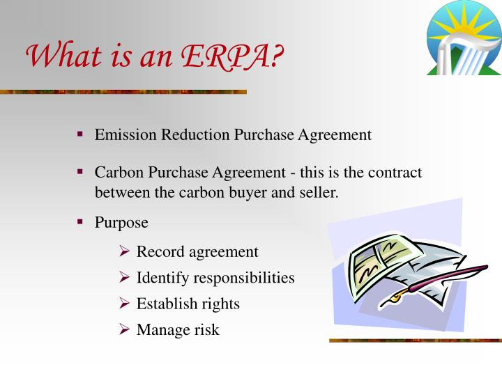 What is an ERPA?