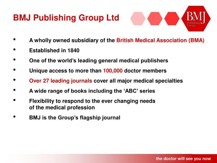 BMJ Publishing Group Ltd