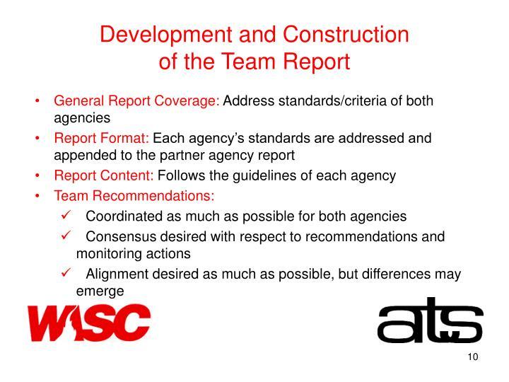 Development and Construction