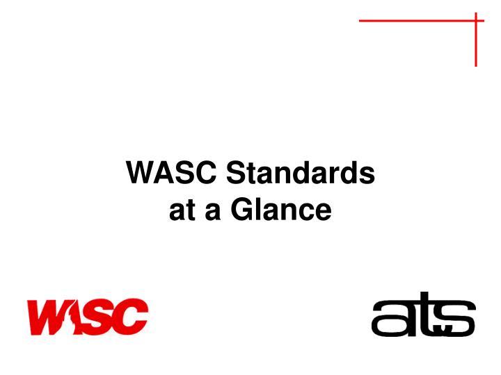 WASC Standards