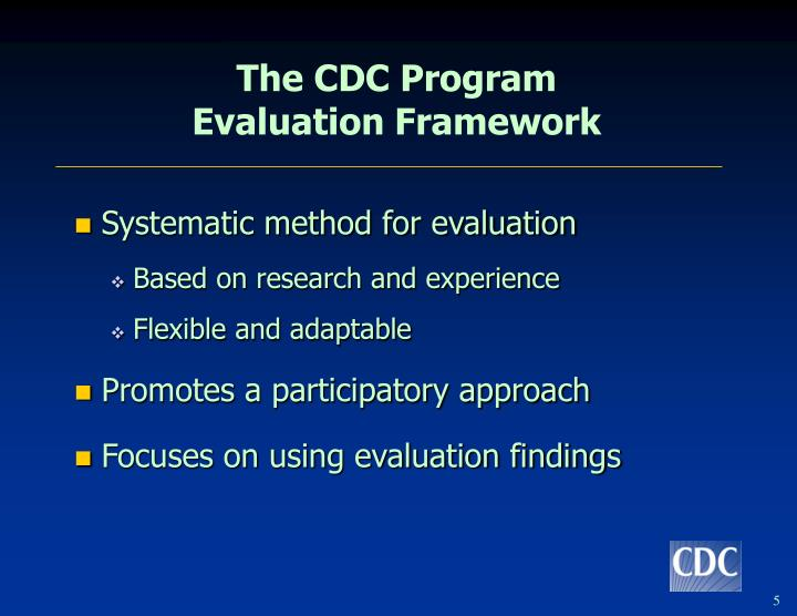 The CDC Program