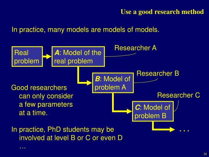 Researcher B