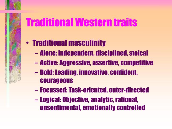 Traditional Western traits